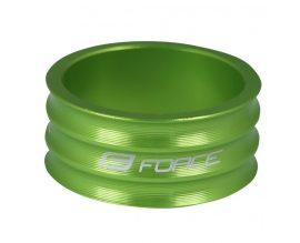 FORCE AHEAD alátét alu CNC zöld 15mm