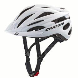 Cratoni Pacer kerékpáros sisak (white matt)