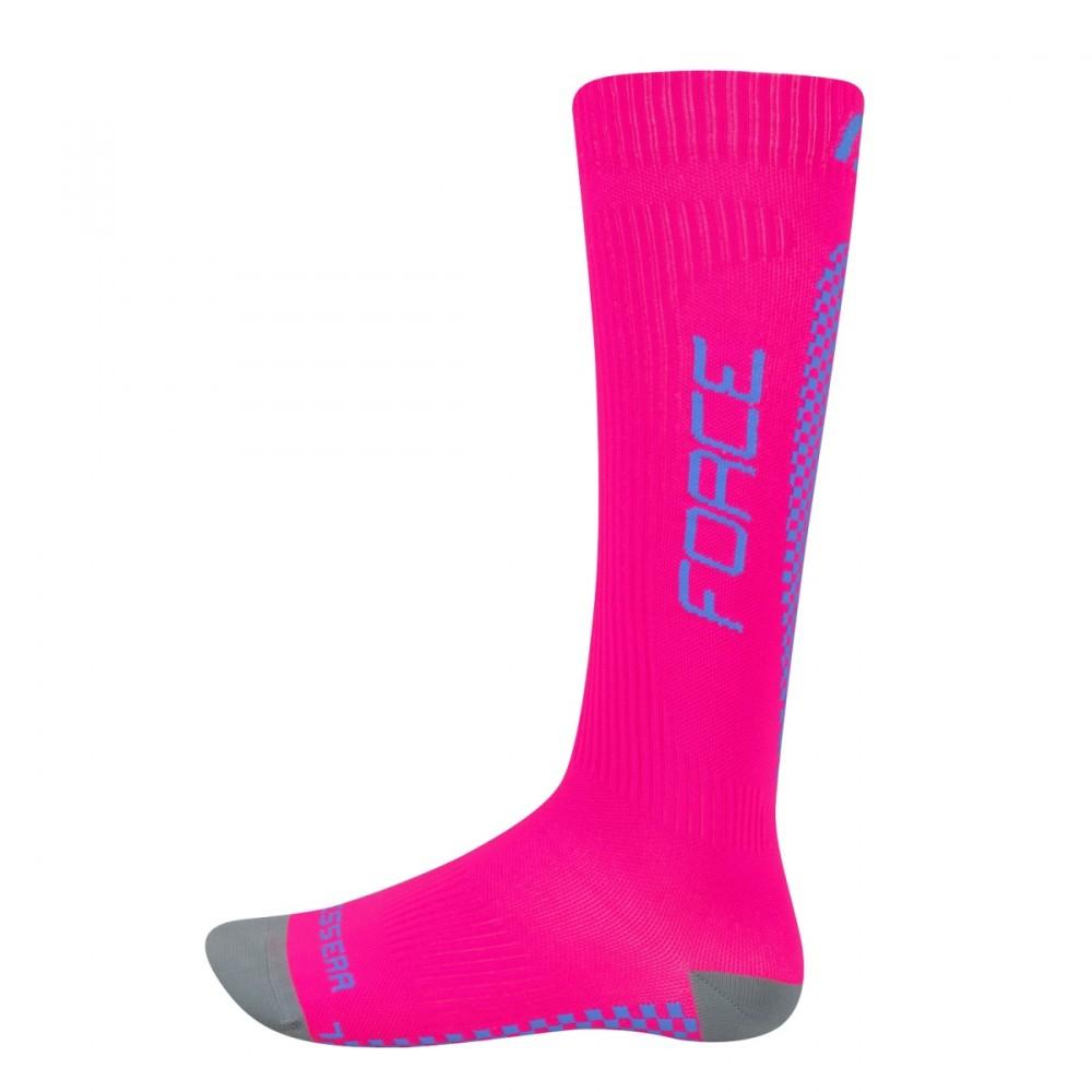 FORCE TESSERA kompressziós zokni rózsaszín-kék - M M Sport Kaland ... 580b0420c9