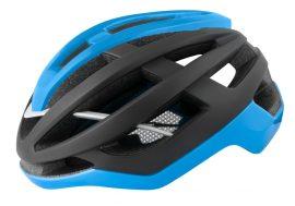 FORCE LYNX kerékpáros sisak fekete-kék matt