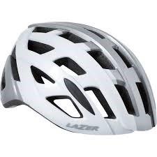 Lazer Tonic White Titanium kerékpáros fejvédő