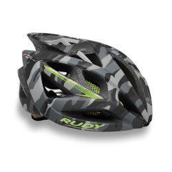 Rudy Project Airstorm kerékpáros fejvédő ( grey camo/fluo )