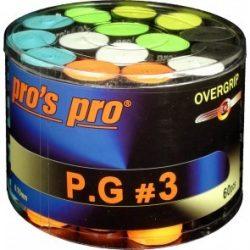 Pro's Pro P.G 3 overgripp 60 pack