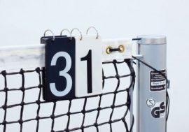 Universal Eredményjelző tábla teniszhálóra