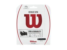 Wilson Revolve Spin Black - 12 m teniszhúr