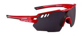 FORCE AMOLEDO sportszemüveg piros-szürke, fekete laser lencse